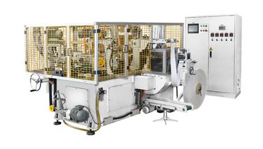 Çin Beyaz Yatay 150pcs / dak Yüksek Hızlı Otomatik Kağıt Kupası / kase Makinesi / Makine Distribütör
